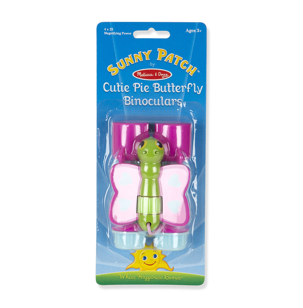 Бинокль Sunny Patch - БабочкаШпионские игрушки. Наборы секретного агента<br>Бинокль Sunny Patch - Бабочка<br>