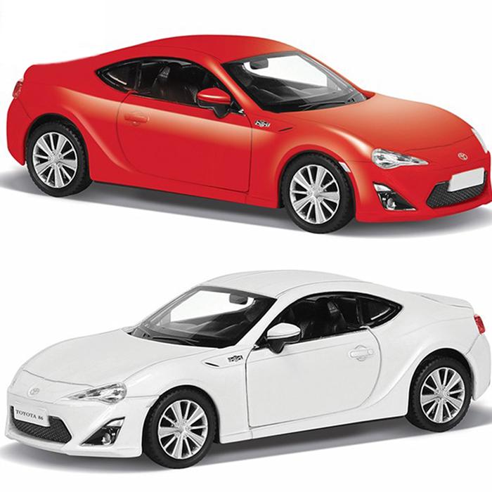 Купить Металлическая инерционная машина RMZ City - Toyota 86, 1:32, 2 цвета