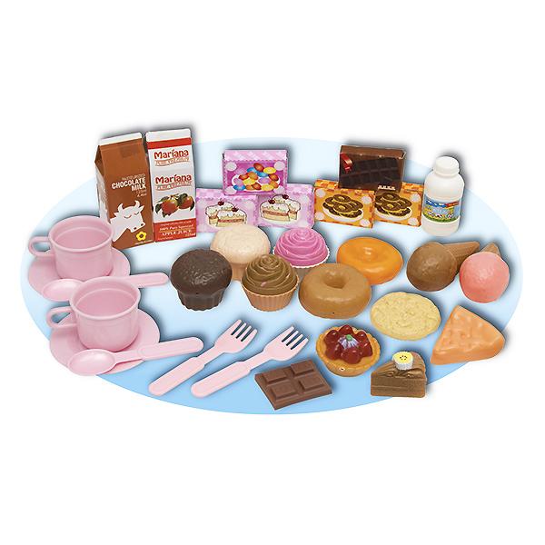 Игровой набор - Приятное чаепитие, 30 предметовАксессуары и техника для детской кухни<br>Игровой набор - Приятное чаепитие, 30 предметов<br>