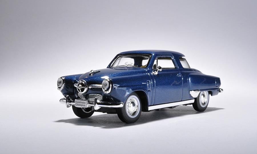 Yat Ming Коллекционная модель автомобиля 1950 года - Cтудебекер Чемпион, 1/43