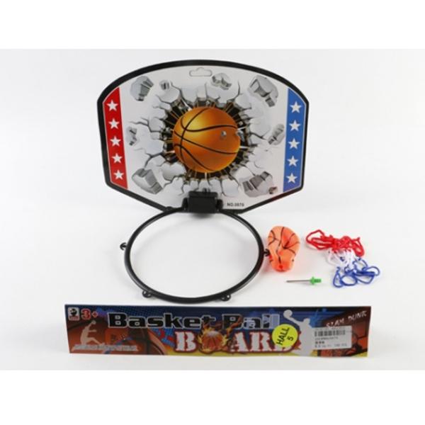 Набор для игры в баскетбол в пакетеБаскетбол, бадминтон, теннис<br>Набор для игры в баскетбол в пакете<br>