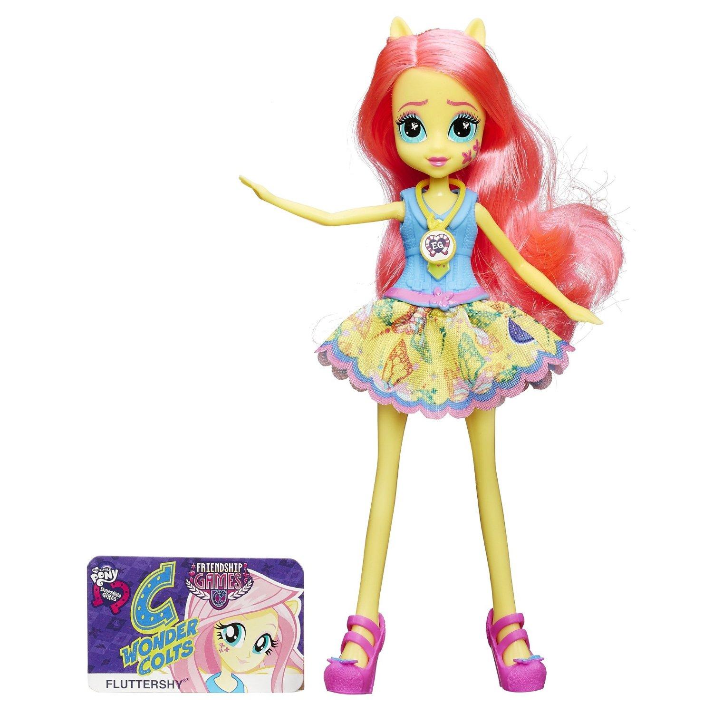 Кукла из серии Девушки Эквестрии School Spirit - ФлаттершайКуклы Девушки Эквестрии (Equestria Girls)<br>Кукла из серии Девушки Эквестрии School Spirit - Флаттершай<br>
