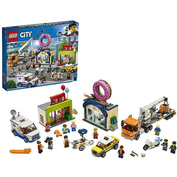 Конструктор Lego City Town - Открытие магазина по продаже пончиков