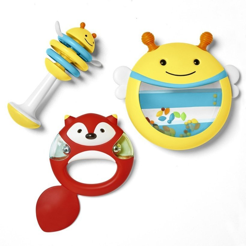 Набор музыкальных инструментовДетские погремушки и подвесные игрушки на кроватку<br>Набор музыкальных инструментов<br>