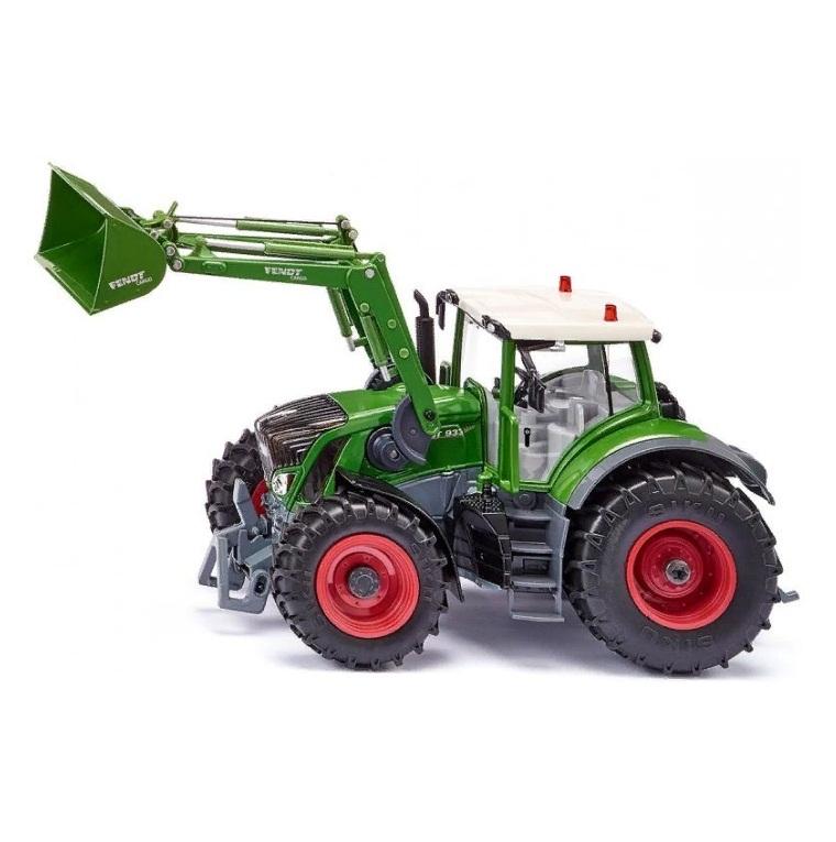 картинка Трактор Fendt 933 Vario с фронтальным погрузчиком от магазина Bebikam.ru