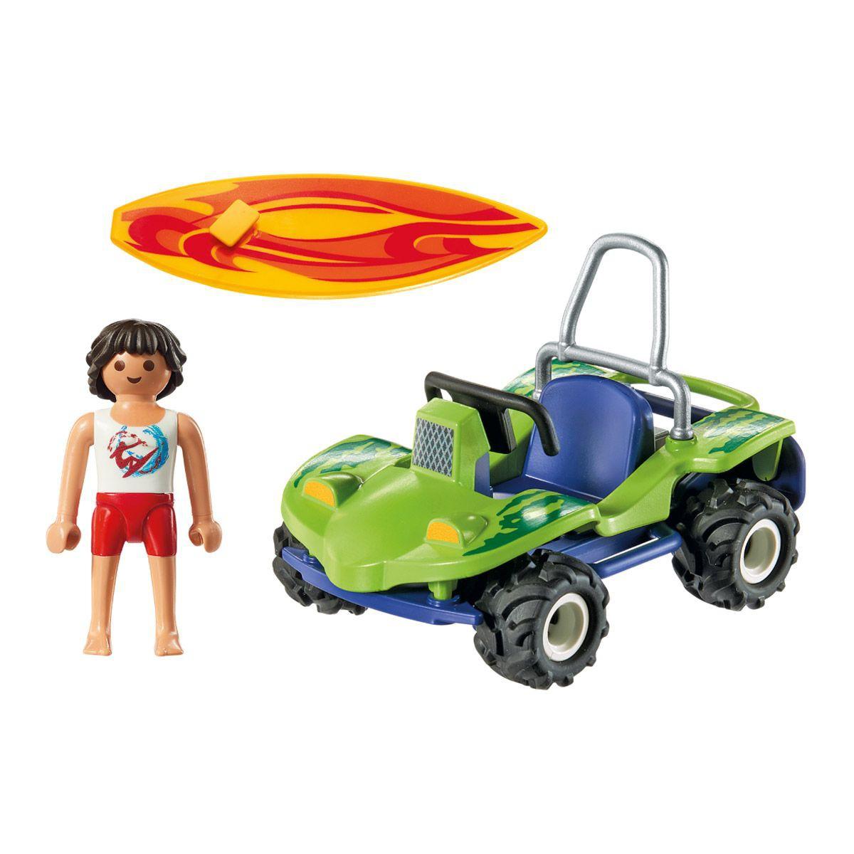 Игровой набор - Круизный Лайнер: Серфер с пляжным квадроцикломПирс <br>Игровой набор - Круизный Лайнер: Серфер с пляжным квадроциклом<br>