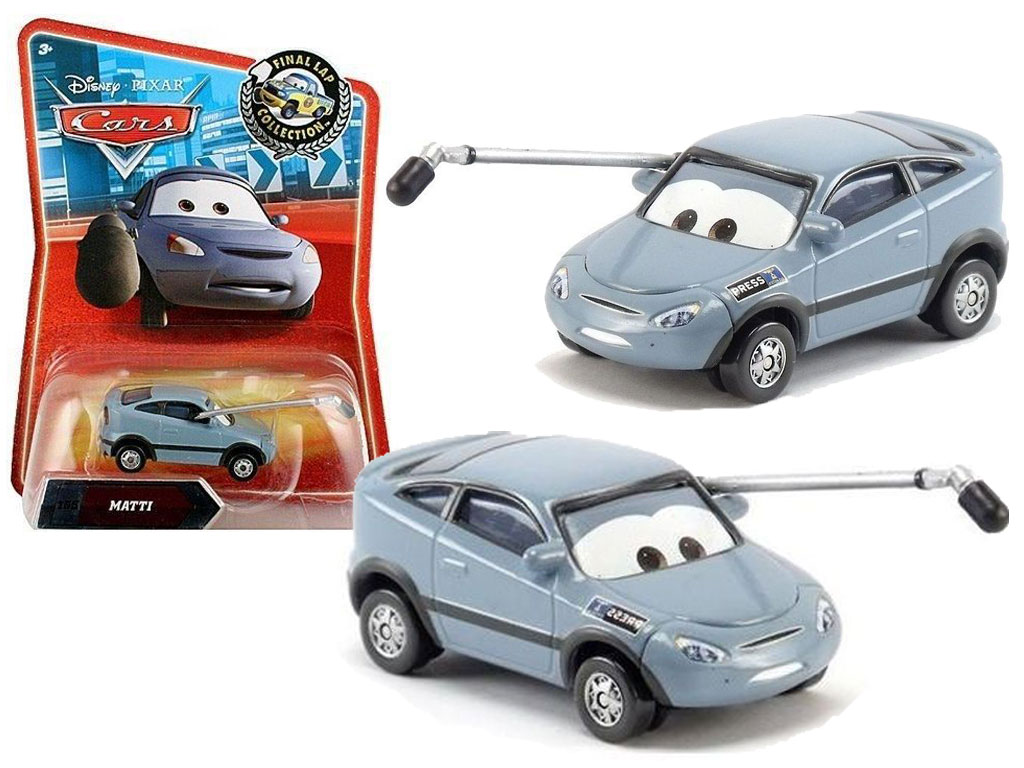 Коллекционная металлическая машинка из мультфильма Тачки – Мэтти Mattel