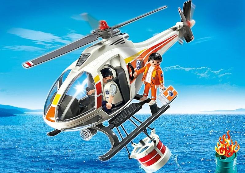 Игровой набор Береговая охрана: Пожарный вертолетПирс <br>Игровой набор Береговая охрана: Пожарный вертолет<br>