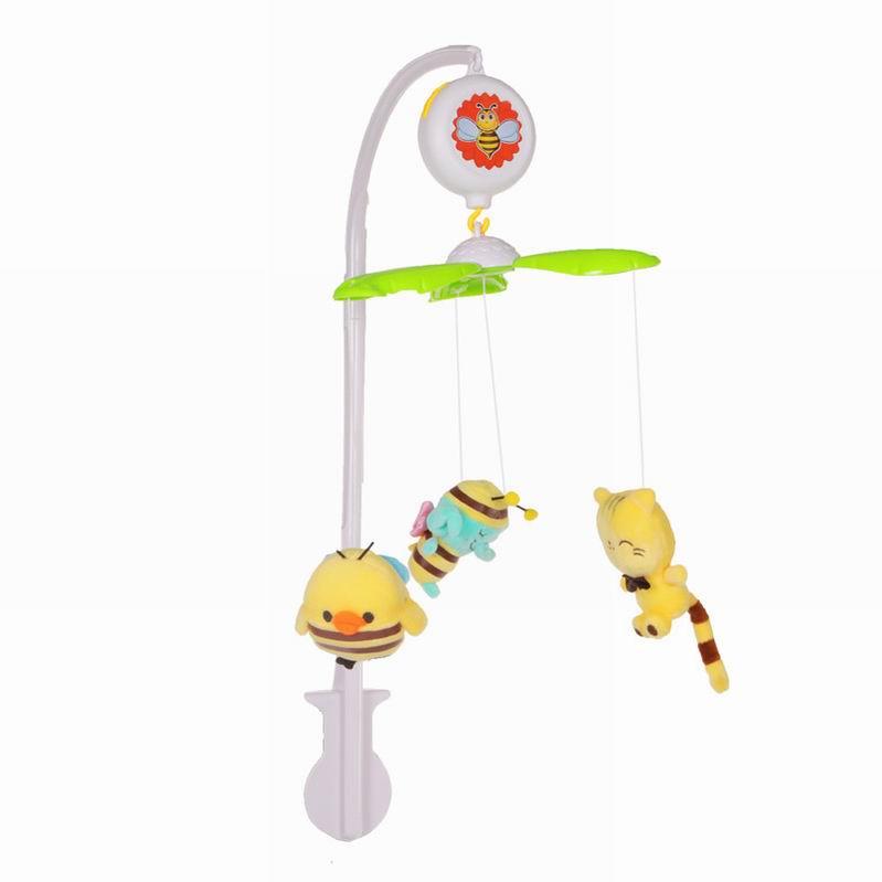 Мобиль на кроватку М6611B-3 с мягкими игрушками - Мобили и музыкальные карусели на кроватку, игрушки для сна, артикул: 166289