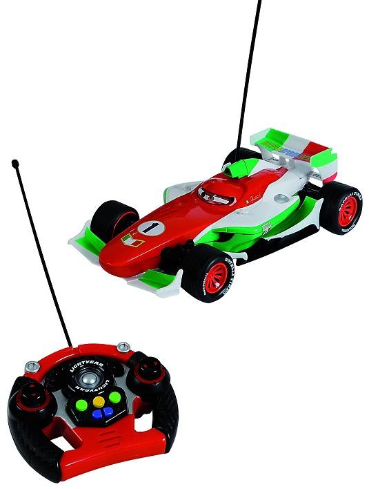 Cars-2 Большой Francesco на радиоуправлении, 35см., свет-звук, дрифтCARS 2 (Игрушки Тачки 2)<br>Cars-2 Большой Francesco на радиоуправлении, 35см., свет-звук, дрифт<br>