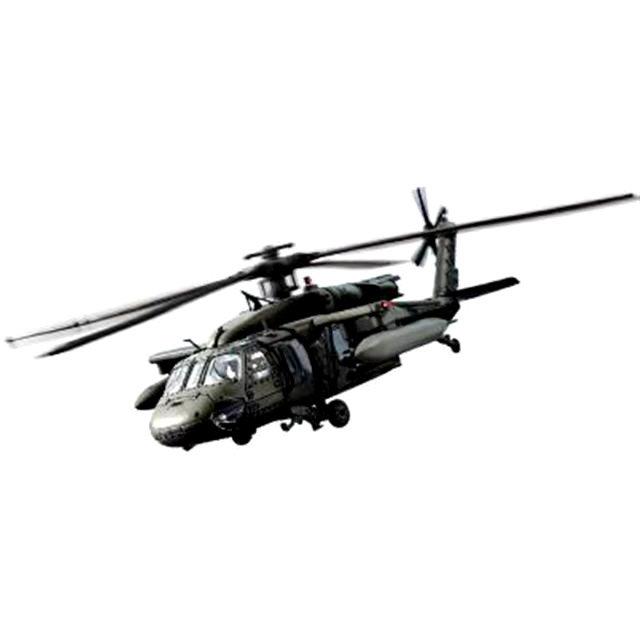 Модель вертолета UH-60L Черный Ястреб 2003 США, 1:48Военная техника<br>Модель вертолета UH-60L Черный Ястреб 2003 США, 1:48<br>