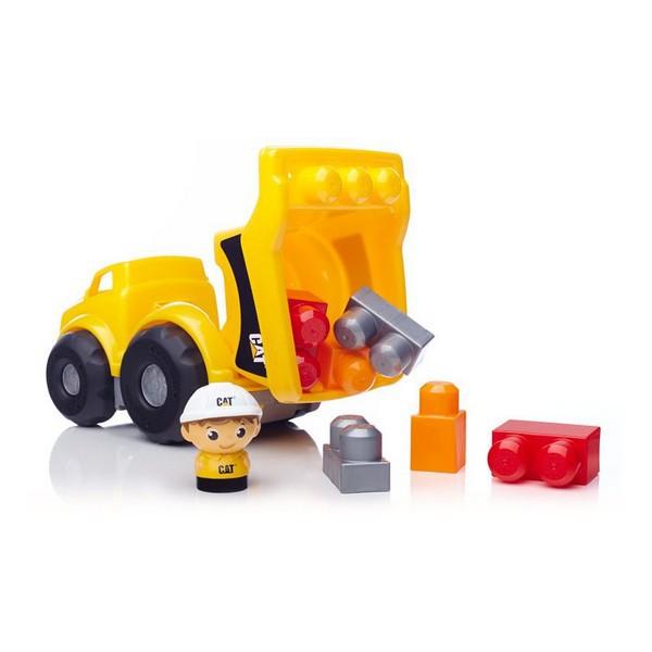 Маленький самосвал Cat из серии Mega Bloks First Builders - Конструкторы Mega Bloks, артикул: 126848