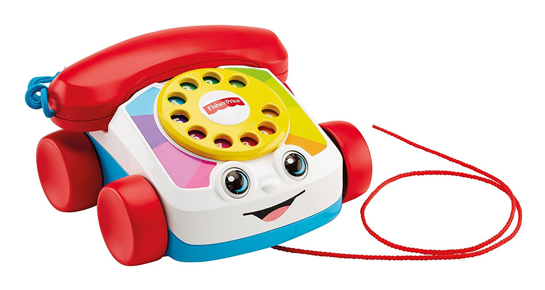 Fisher-Price. Говорящий телефон на колесахРазвивающие игрушки Fisher-Price<br>Fisher-Price. Говорящий телефон на колесах<br>
