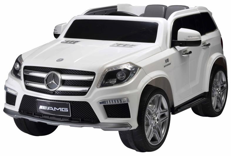 Купить Электромобиль Mercedes-Benz GL63 белый, ToyLand