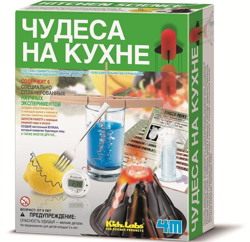 Набор экспериментов - Чудеса на кухнеЮный инженер<br>Набор экспериментов - Чудеса на кухне<br>