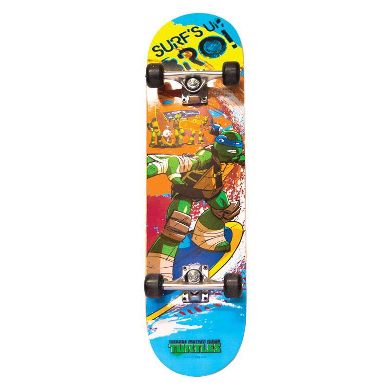 Скейтборд подростковый «Черепашки-ниндзя»