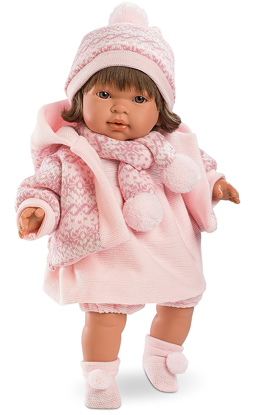 Кукла Карла, озвученная, 42 см.Испанские куклы Llorens Juan, S.L.<br>Кукла Карла, озвученная, 42 см.<br>