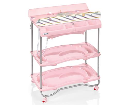 Стол для пеленания - Atlantis, розовыйстолы для пеленания<br>Стол для пеленания - Atlantis, розовый<br>