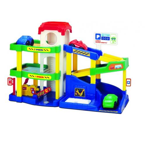 Паркинг  Автогородок - Детские парковки и гаражи, артикул: 163126