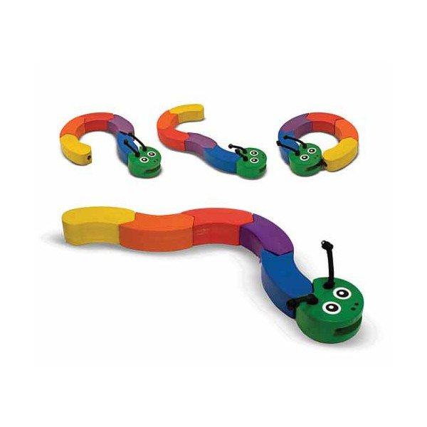 Цепь фигур Гусеница из серии Первые игрушкиРазвивающие центры<br>Цепь фигур Гусеница из серии Первые игрушки<br>