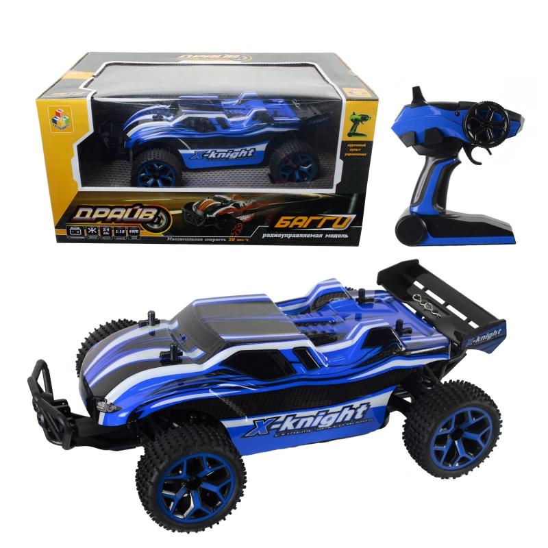 картинка Машина на р/у - Драйв, 4WD, синий от магазина Bebikam.ru
