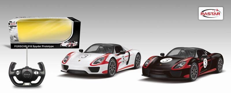 Радиоуправляемая машина Porsche 918 Spyder, световые и звуковые эффектыМашины на р/у<br>Радиоуправляемая машина Porsche 918 Spyder, световые и звуковые эффекты<br>