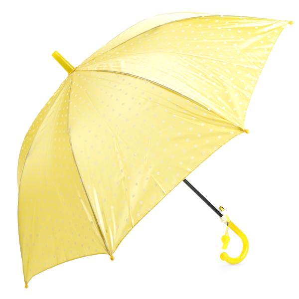 Зонт детский со свистком - Горошек, перламутровый, 45 смДетские зонты<br>Зонт детский со свистком - Горошек, перламутровый, 45 см<br>