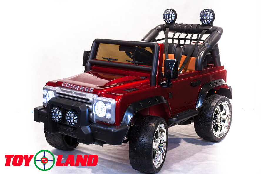 Электромобиль LR DK-F006, цвет – красныйЭлектромобили, детские машины на аккумуляторе<br>Электромобиль LR DK-F006, цвет – красный<br>