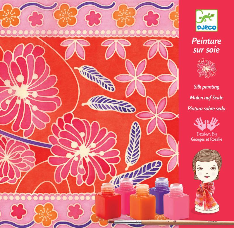 Набор для творчества раскраска Японский садРоспись по ткани<br>Набор для творчества раскраска Японский сад<br>
