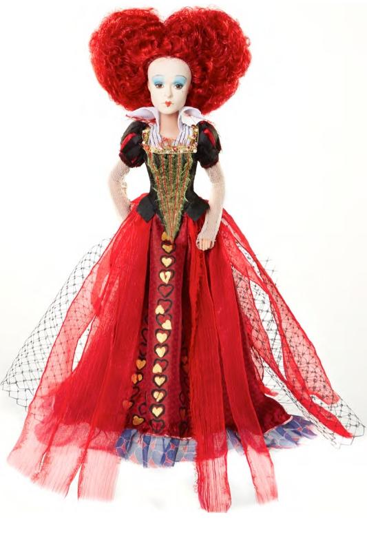 Кукла коллекционная «Красная Королева» серия Делюкс, 29 смКоллекционные куклы<br>Кукла коллекционная «Красная Королева» серия Делюкс, 29 см<br>