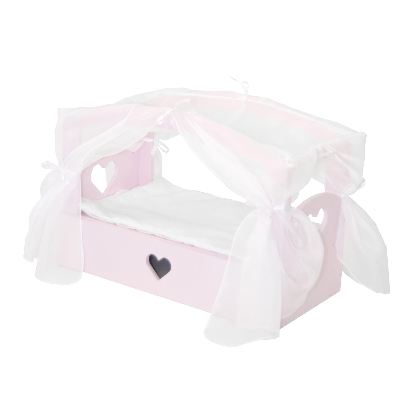 Купить Кроватка с бельевым ящиком из серии Любимая кукла - Мини, цвет Мия, Paremo