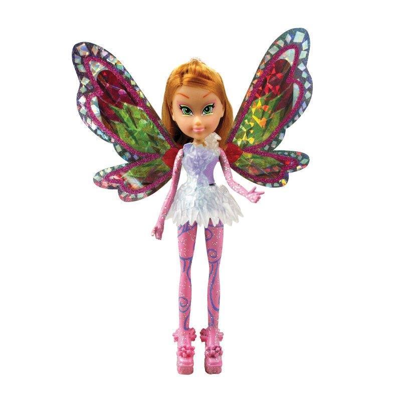 Мини-фигурка из серии Winx Club Тайникс – Flora, 12 см.Куклы Винкс (Winx)<br>Мини-фигурка из серии Winx Club Тайникс – Flora, 12 см.<br>
