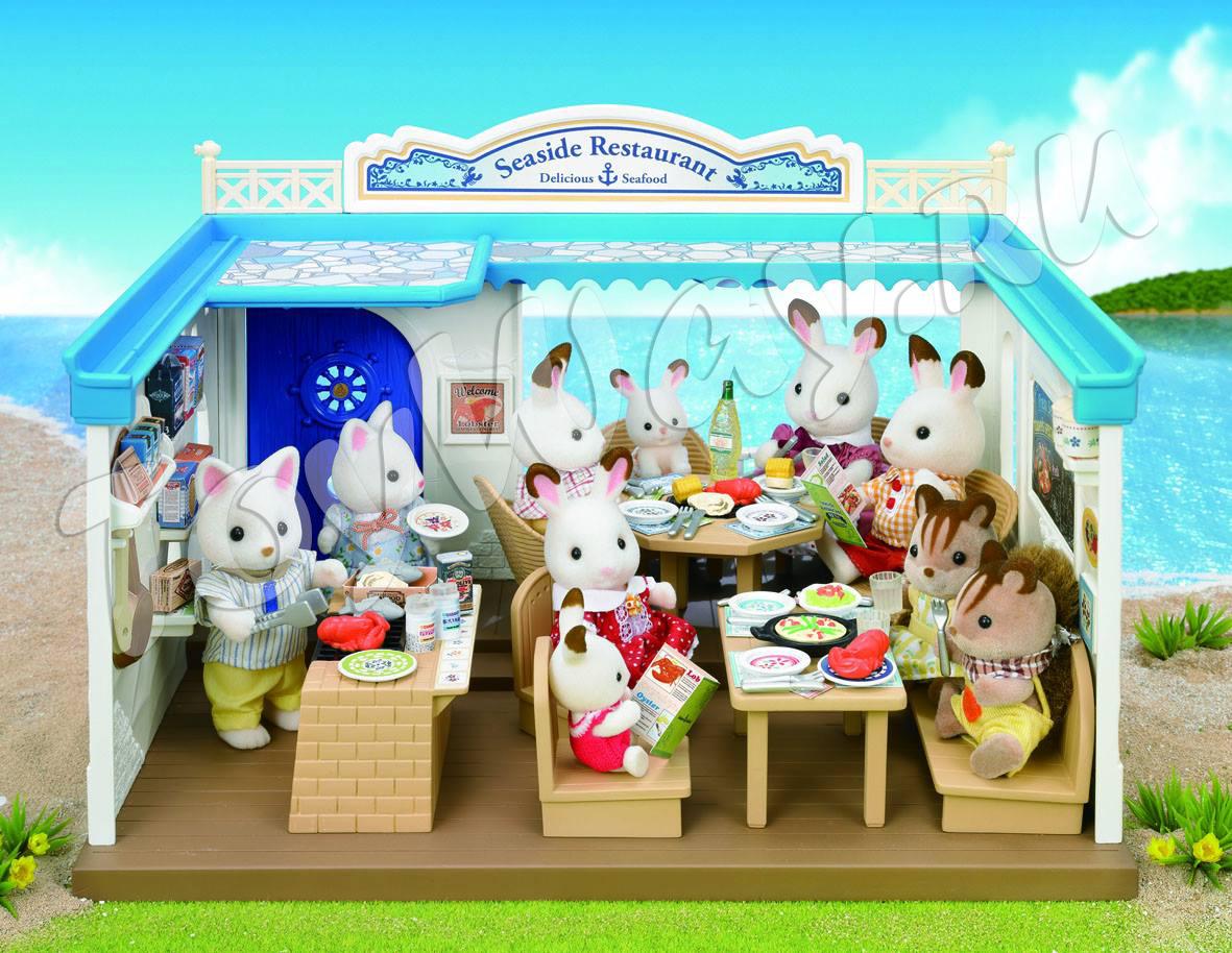 Sylvanian Families - Морской ресторанДома и Рестораны<br>Sylvanian Families - Морской ресторан<br>