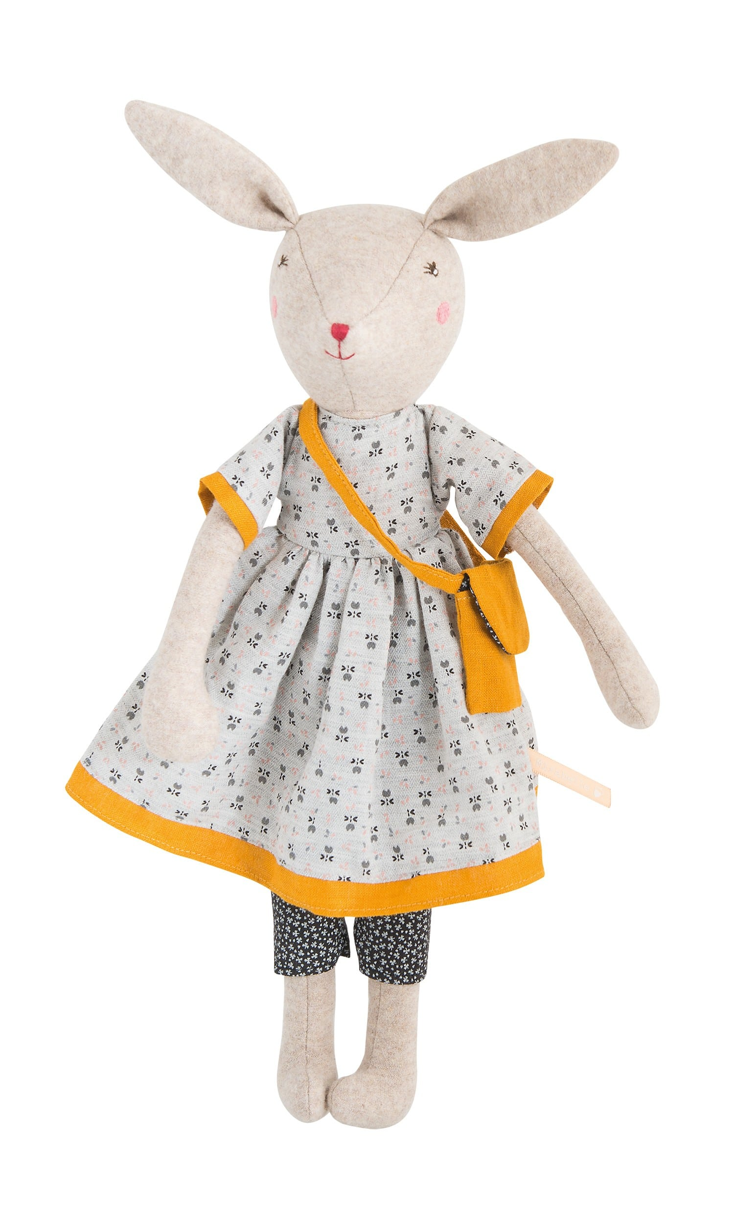 Купить Мягкая игрушка – Мама Кролик. 40 см, Moulin Roty