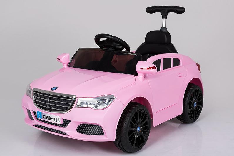 Электромобиль BMW MB розовыйЭлектромобили, детские машины на аккумуляторе<br>Электромобиль BMW MB розовый<br>