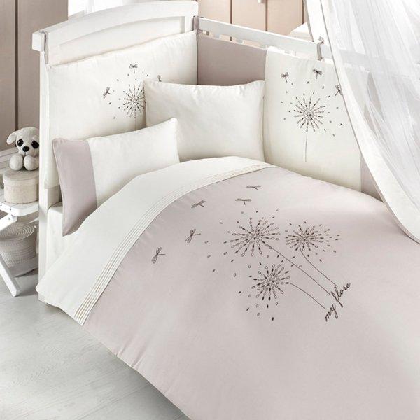 Комплект постельного белья и спальных принадлежностей из 6 предметов серии My FloreДетское постельное белье<br>Комплект постельного белья и спальных принадлежностей из 6 предметов серии My Flore<br>