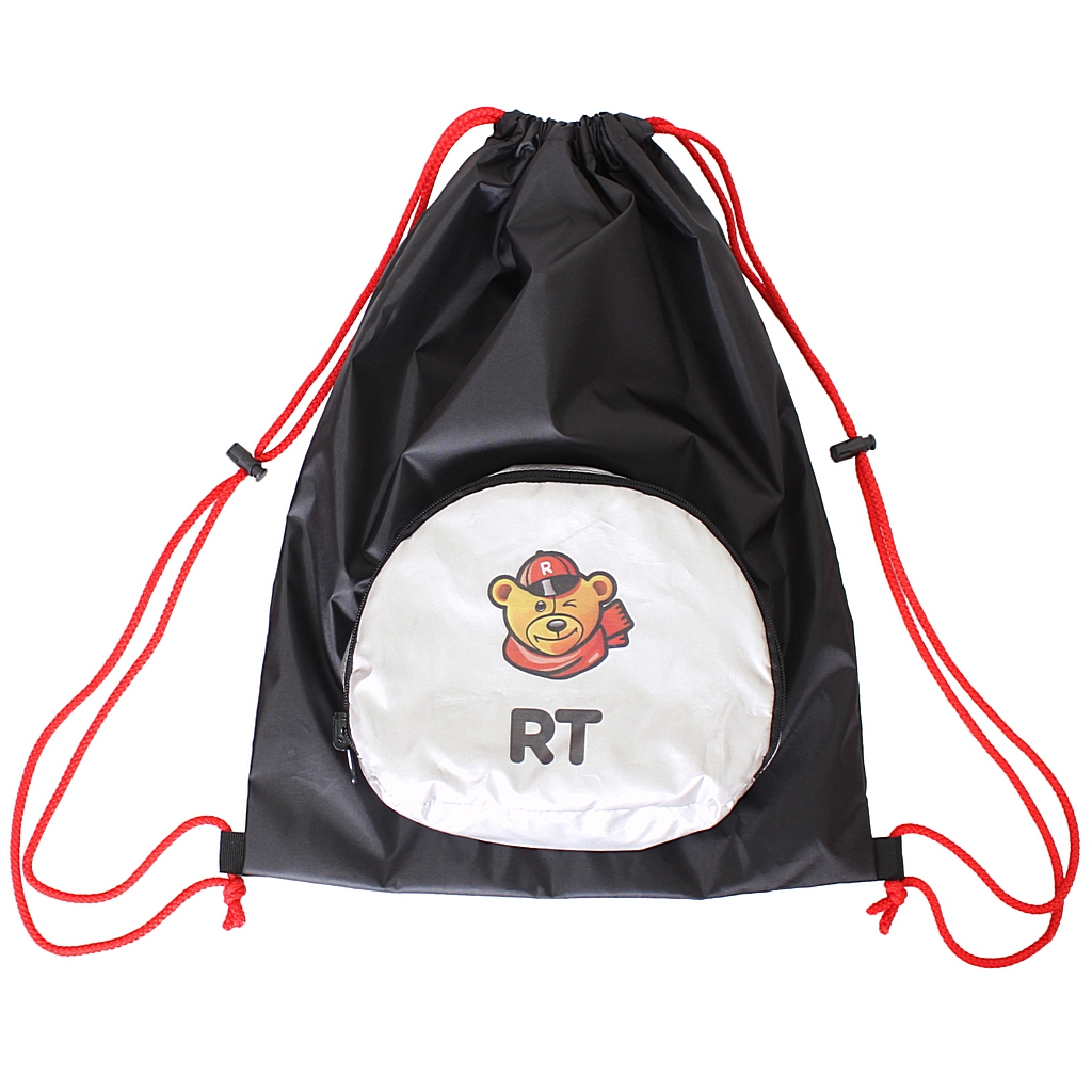 Мешок-рюкзак складной RT- Обезьяна, на самокат и велосипед фото