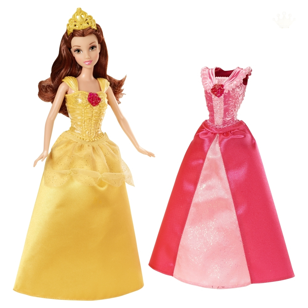 Кукла Белль с дополнительным платьем MagiClip, 28 см.Белль<br>Кукла Белль с дополнительным платьем MagiClip, 28 см.<br>