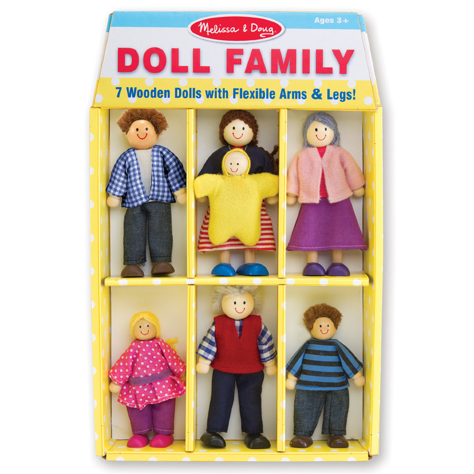 Игровой набор - Кукольная семьяКукольные домики<br>Игровой набор - Кукольная семья<br>