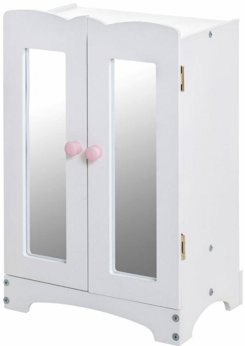 Кукольный шкаф, белыйКукольные домики<br>Кукольный шкаф, белый<br>