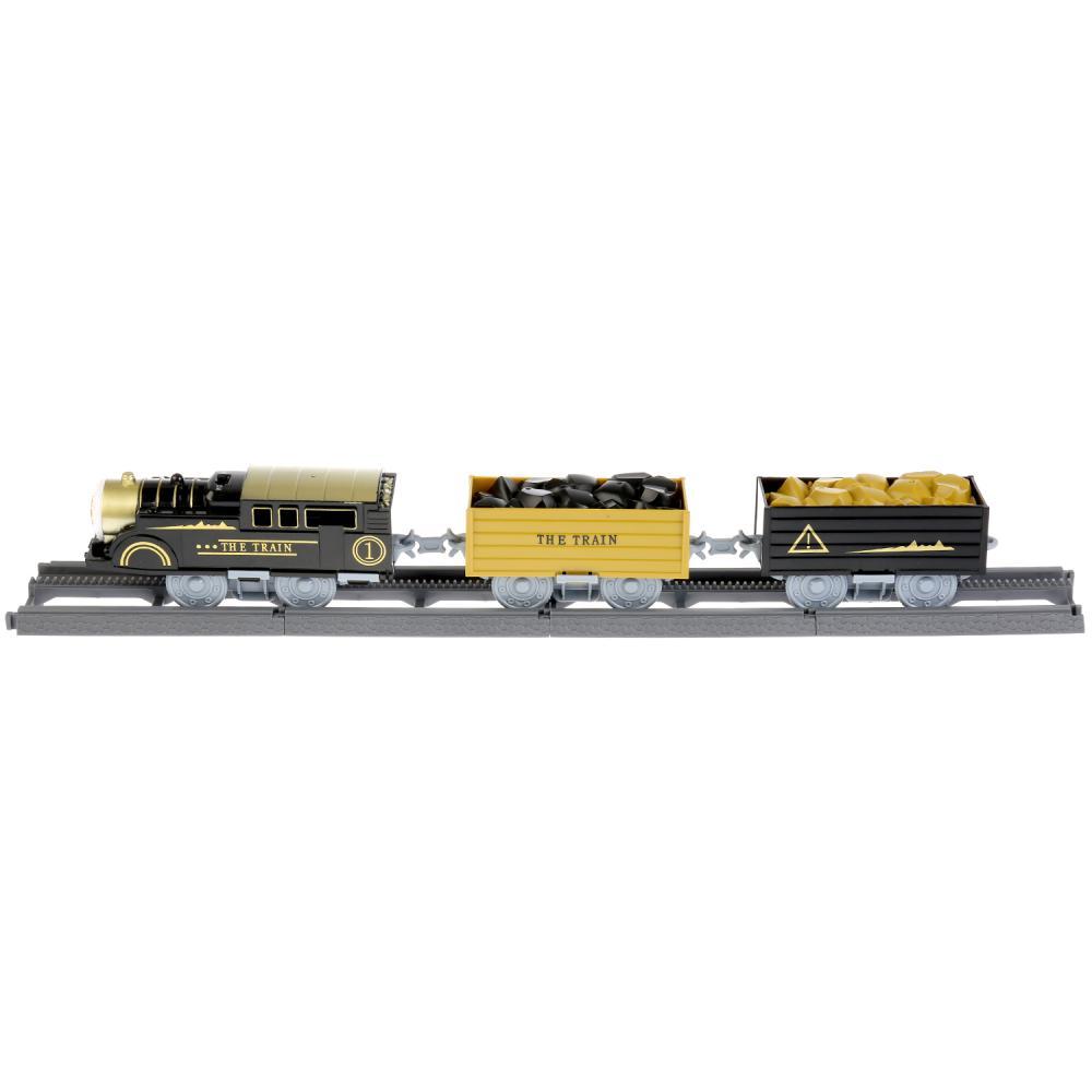Купить Железная дорога 4119, 47 деталей, свет и звук