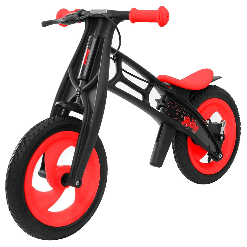 Hobby-bike RT original Велобалансир+беговел, red/black, шины волна
