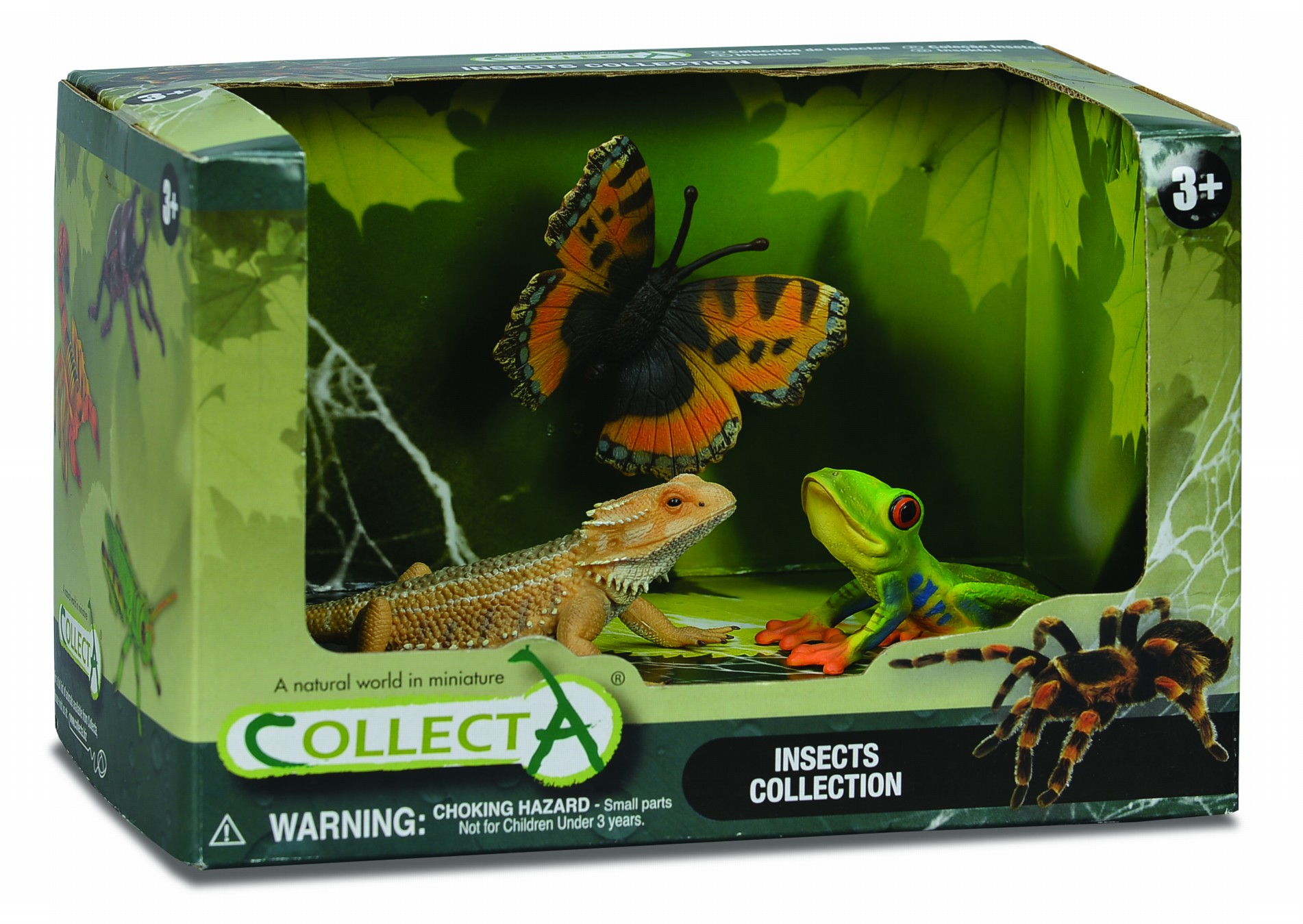Купить Набор насекомых №1, 3 штуки, Collecta Gulliver