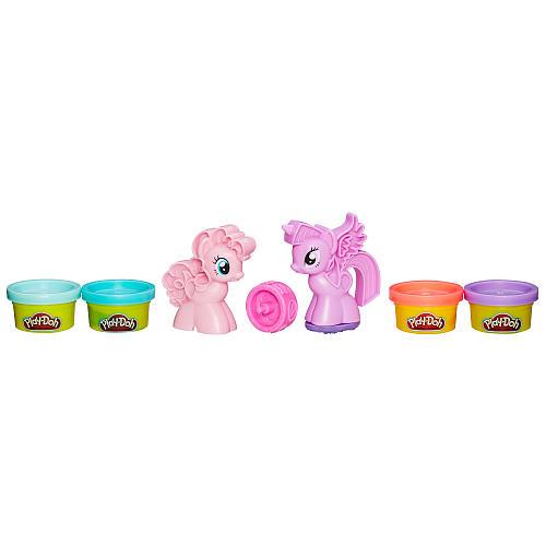 Игровой набор Play-Doh - Пони: Знаки ОтличияПластилин Play-Doh<br>Игровой набор Play-Doh - Пони: Знаки Отличия<br>