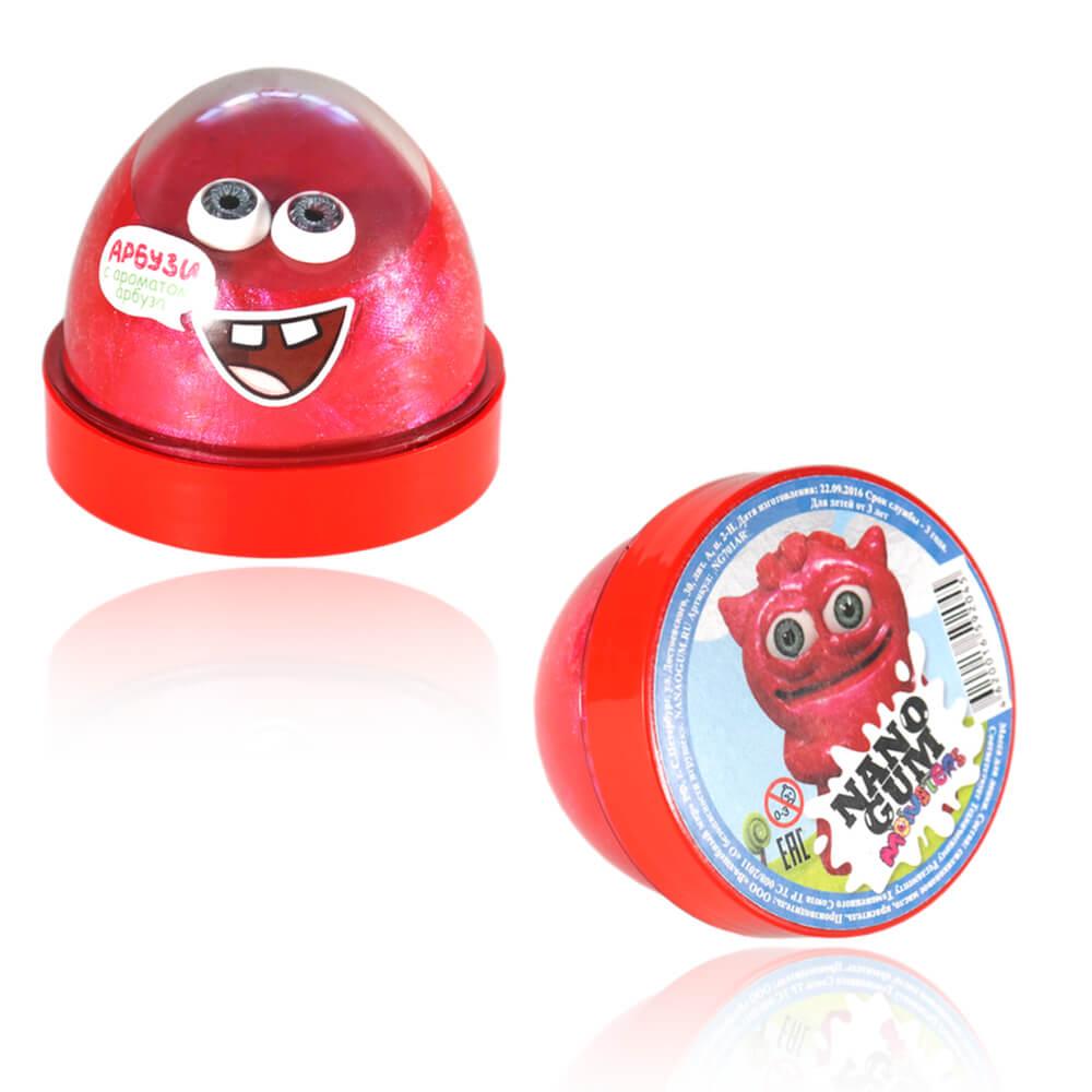 Жвачка для рук Nano gum – Арбузи, 50 граммЖвачка для рук<br>Жвачка для рук Nano gum – Арбузи, 50 грамм<br>