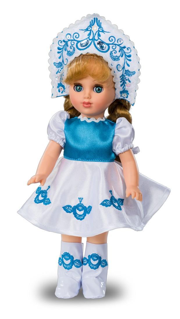 Кукла Алла «Гжельская красавица»Русские куклы фабрики Весна<br>Кукла Алла «Гжельская красавица»<br>
