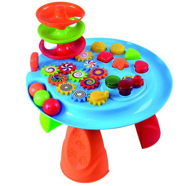 Игровой центр - Cтол с шарами, формами и шестеренкамиРазвивающие игрушки PlayGo<br>Игровой центр - Cтол с шарами, формами и шестеренками<br>