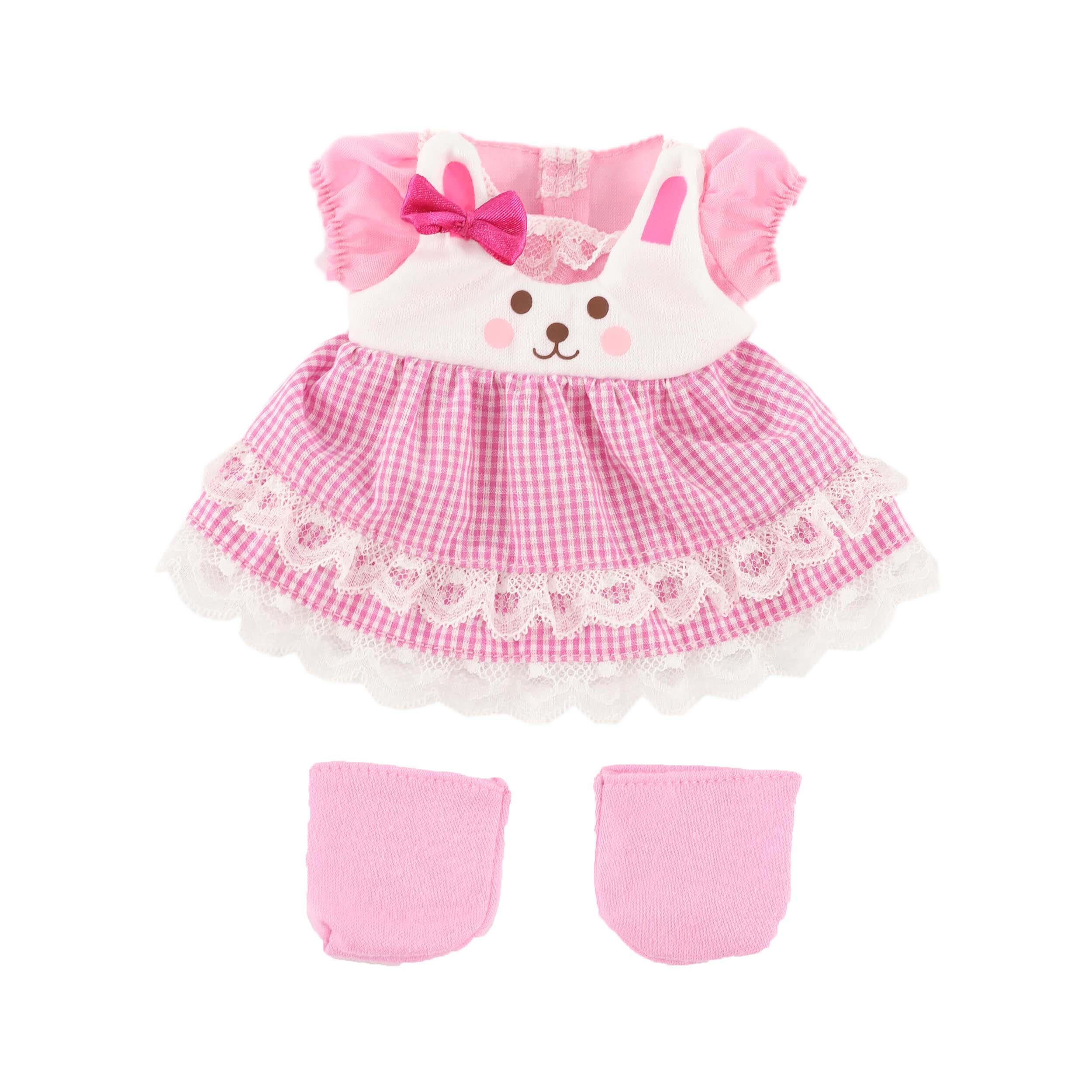 Комплект одежды Зайка для куклы Мелл