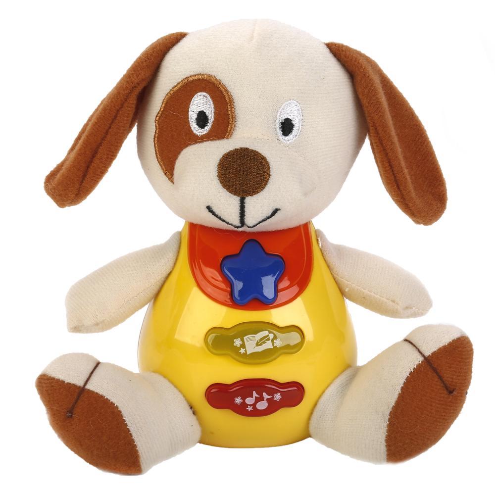 Купить Обучающая игрушка - Собака, свет и звук, Умка
