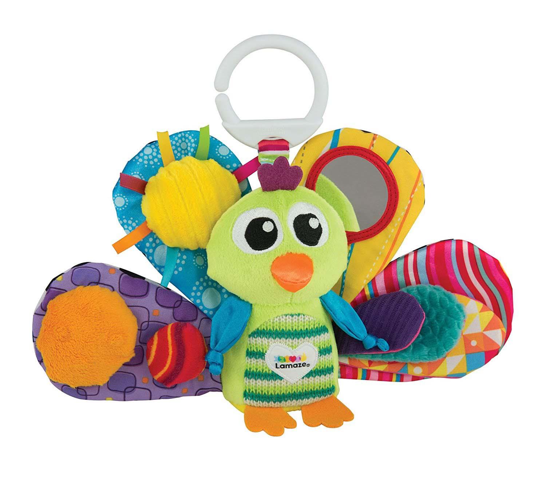 Подвесная игрушка – Павлин ЖакоРазвивающая дуга. Игрушки на коляску и кроватку<br>Подвесная игрушка – Павлин Жако<br>